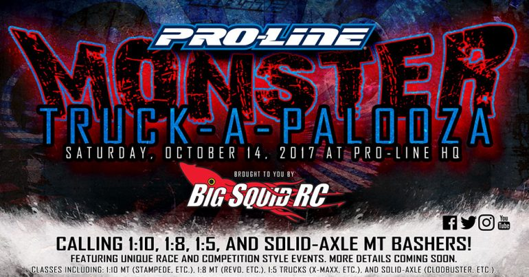 Monster Truck-A-Palooza – Pro-Line and Big Squid RC Event!