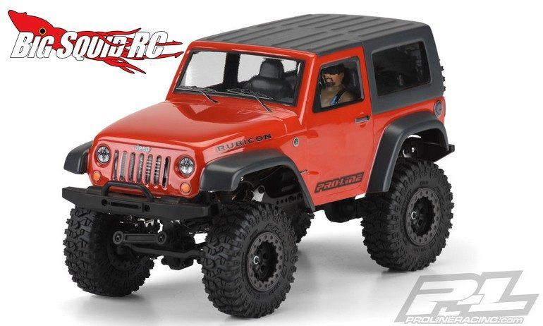 Pro-Line Jeep Wrangler Rubicon Body with Interior
