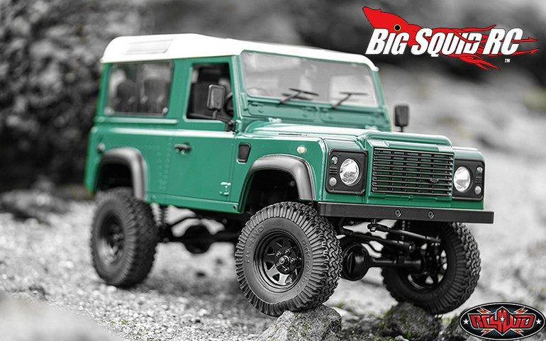 RC4WD Gelande II RTR With Defender D90 Body