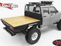 RC4WD Wood Flatbed TF2 Mojave II LWB