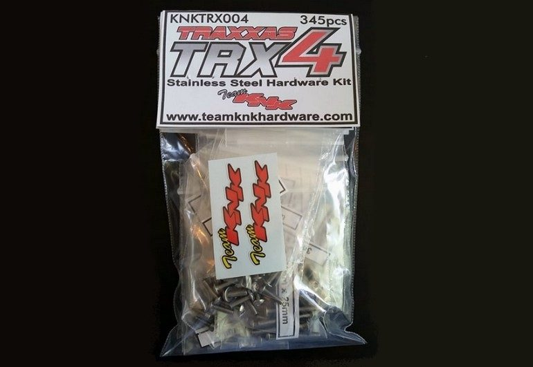 Team KNK Complete TRX4 Stainless Hardware Kit