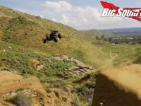 traxxas e-revo massive jump video