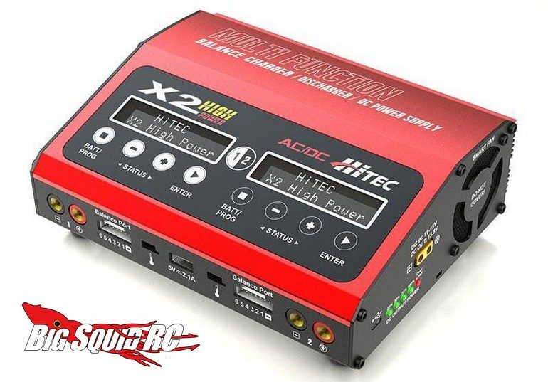 Hitec X2 High Power Battery Charger