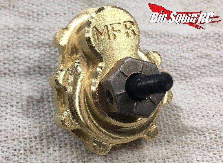 MFR Brass Portal Cover TRX-4