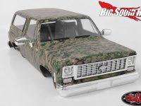 RC4WD Chevrolet Blazer Hard Body Set Digital Camo