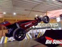 Traxxas Bandit Freestyle Foam Pit Session