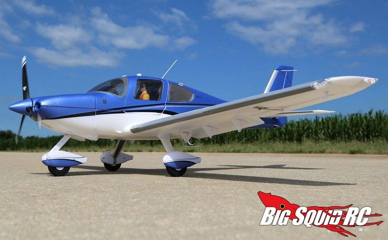 E-Flite Cirrus SR22T