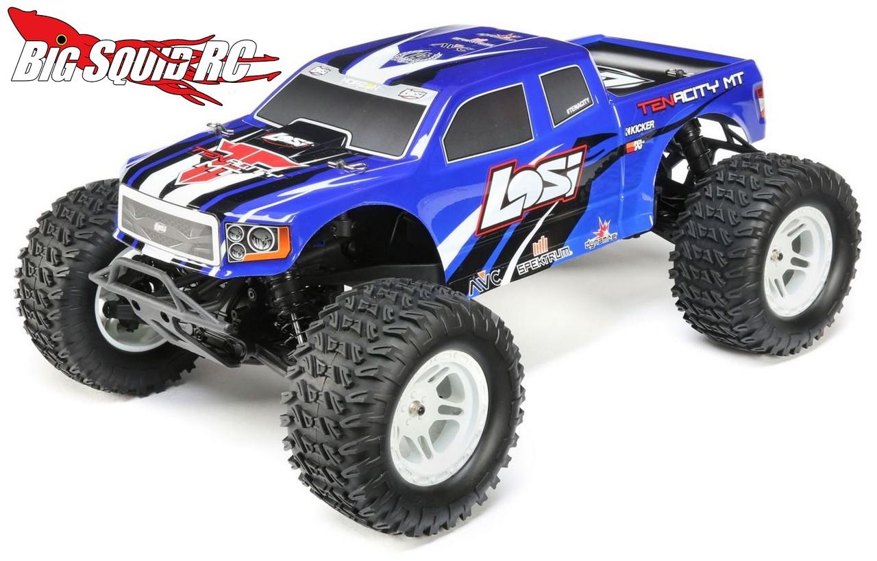 Losi Tenacity Monster Truck 171 Big Squid Rc Rc Car And