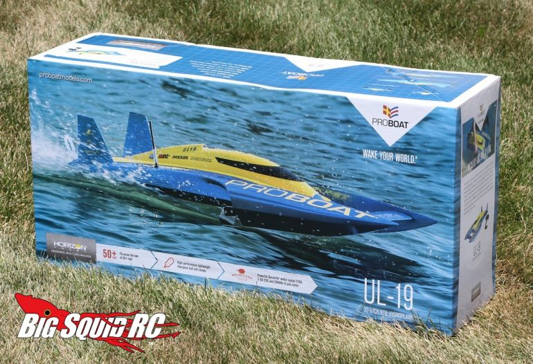 Pro Boat UL-19 Hydroplane Unboxing