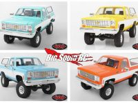 RC4WD Blazer New Colors