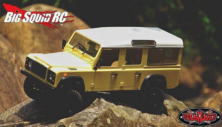 RC4WD Gelande II LWB RTR D110 Body Set