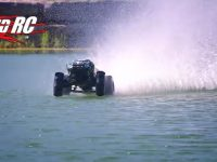 Traxxas X-Maxx Hydroplane Video