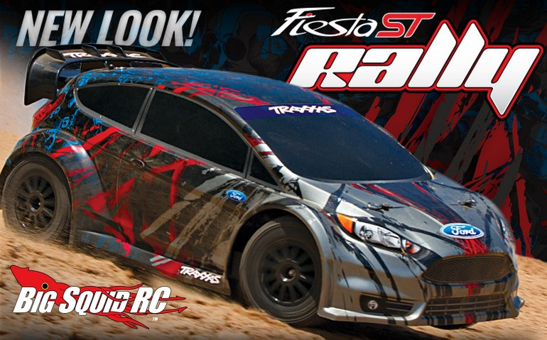 new look for the traxxas ford fiesta st rally big squid. Black Bedroom Furniture Sets. Home Design Ideas
