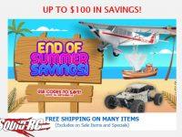 Graupner End of Summer Sale