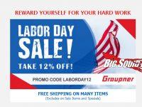 Graupner Labor Day Sale