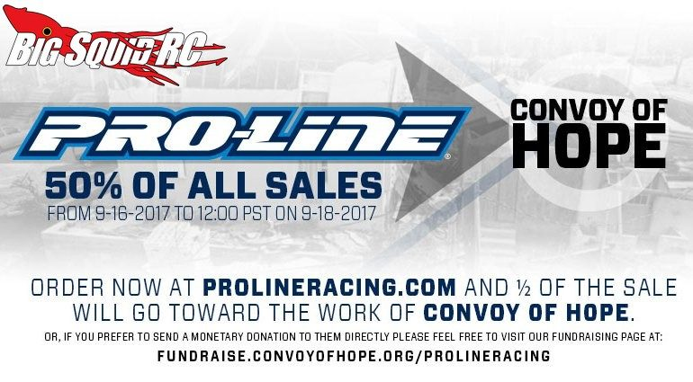 Pro-Line Convoy of Hope Fundraiser