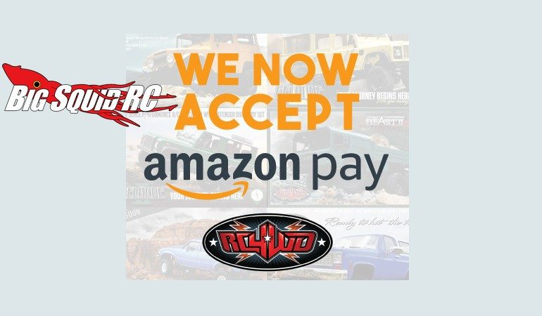RC4WD Amazon Pay