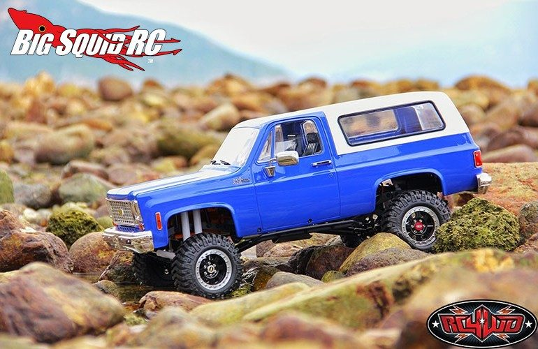 RC4WD Trail Finder 2 RTR Chevrolet Blazer Body