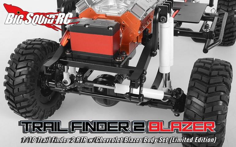 Rc4wd Trail Finder 2 Rtr With Chevrolet Blazer Body Big Squid Rc