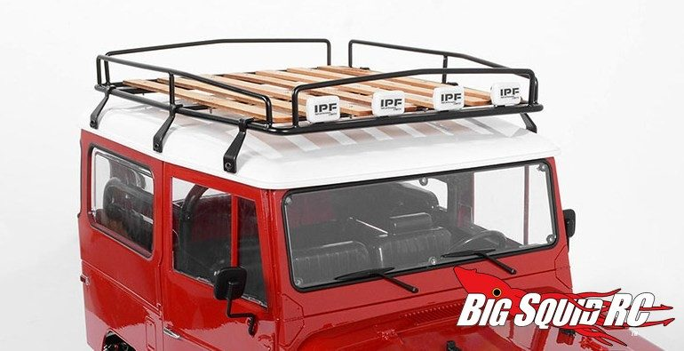 Rc4wd Wood Roof Rack For The Cruiser Body Big Squid Rc