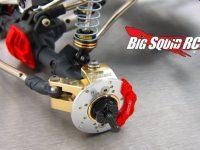 Samix Brass Heavy Knuckle Set SCX10 II