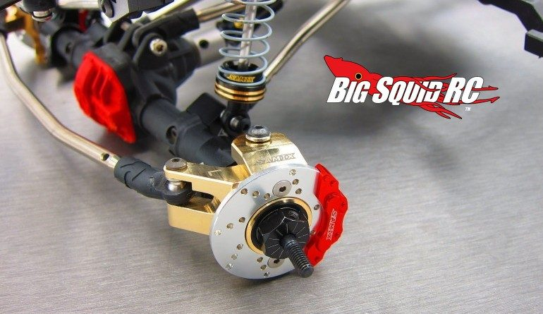 Samix Brass Heavy Knuckle Set SCX10 II