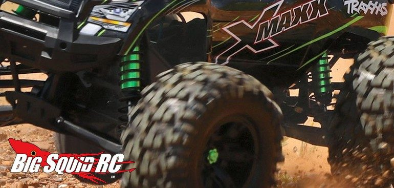 Green Traxxas X-Maxx Upgrades