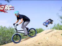 Traxxas RC vs. BMX Freestyle Video