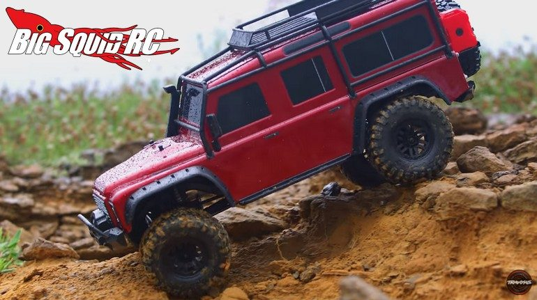 Traxxas TRX-4 Rainy Day Video