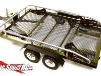 Integy Flatbed Dual Axle Car Trailer Kit