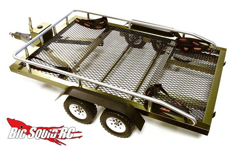 Integy Flatbed Dual Axle Car Trailer Kit