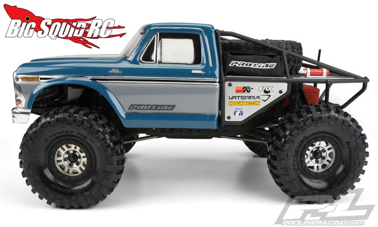 Pro Line Ford F Clear Body