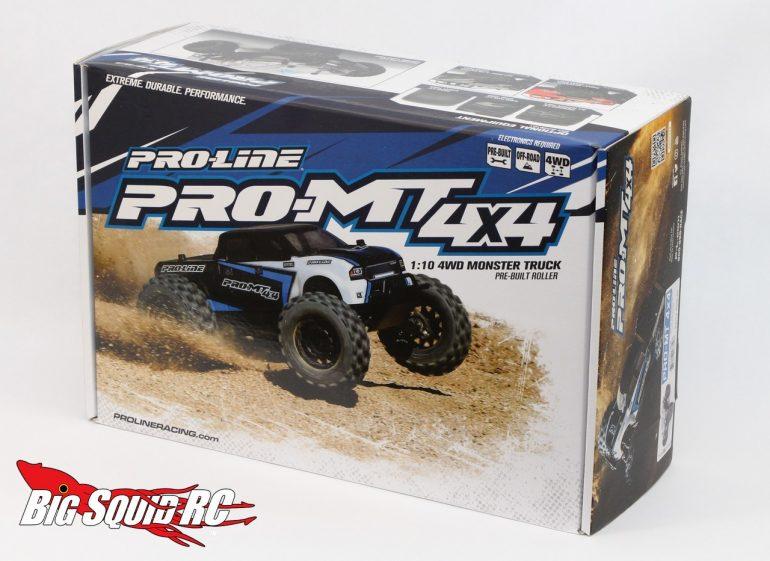 Pro-Line PRO-MT 4x4 Unboxing