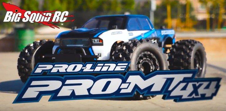 Pro-Line PRO-MT 4x4 Video