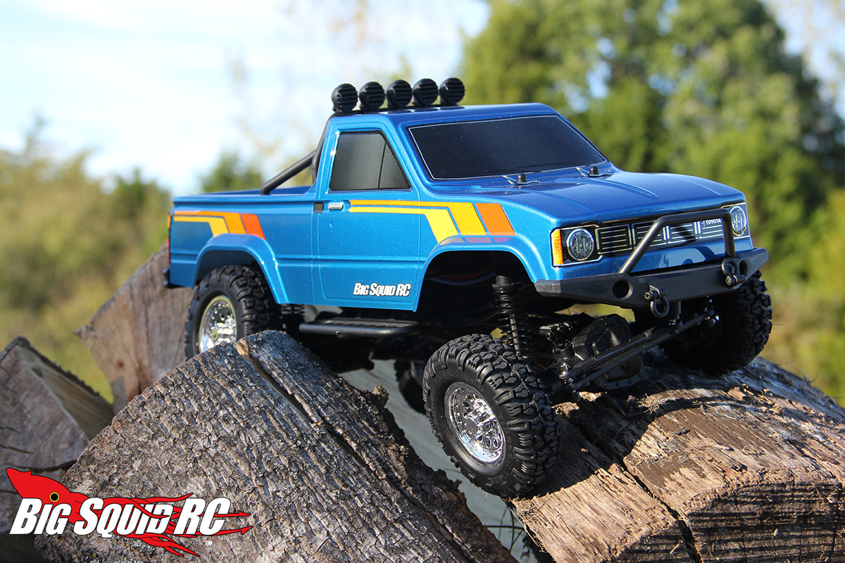 Pickup Truck Ramps >> Thunder Tiger Toyota Hilux 1/12 Pickup Truck Review « Big ...