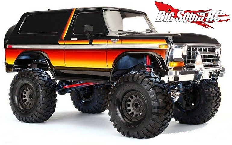 Traxxas 1979 Ford Bronco Body Kit For The Trx 4 171 Big