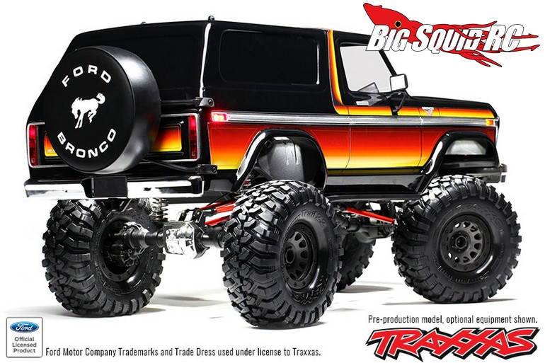 Traxxas 1979 Ford Bronco Body Kit For The Trx 4 171 Big Squid Rc Rc Car And Truck News Reviews