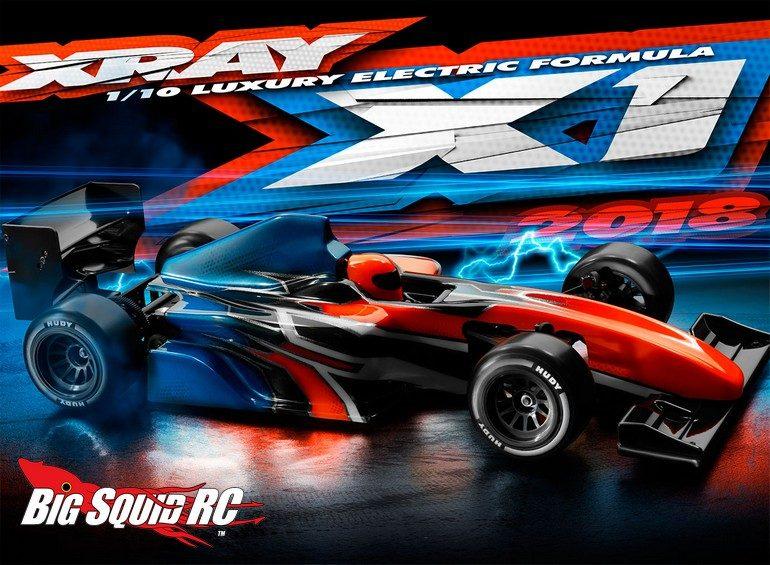 XRay X1 2018