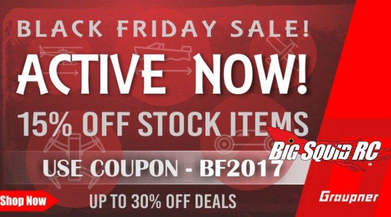Graupner Black Friday Sale