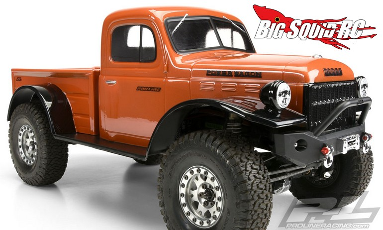 1946 Dodge Power Wagon >> Pro-Line 1946 Dodge Power Wagon Body « Big Squid RC – RC Car and Truck News, Reviews, Videos ...