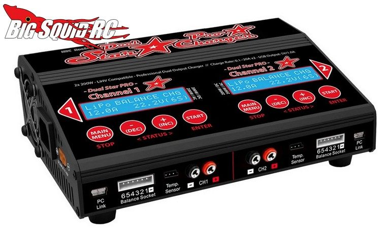 HRC Racing Dual Star Pro Charger