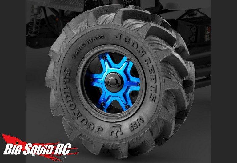 JConcepts Fling King Dragon Wheels Tires
