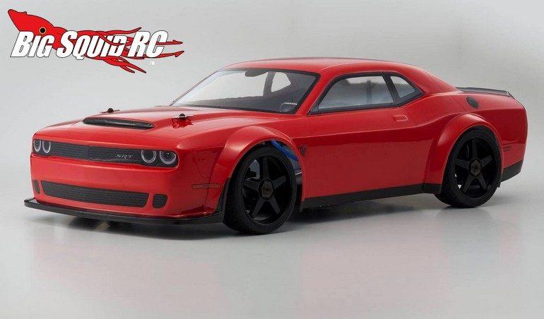 Kyosho 2018 Dodge Challenger Srt Demon Big Squid Rc Rc Car And