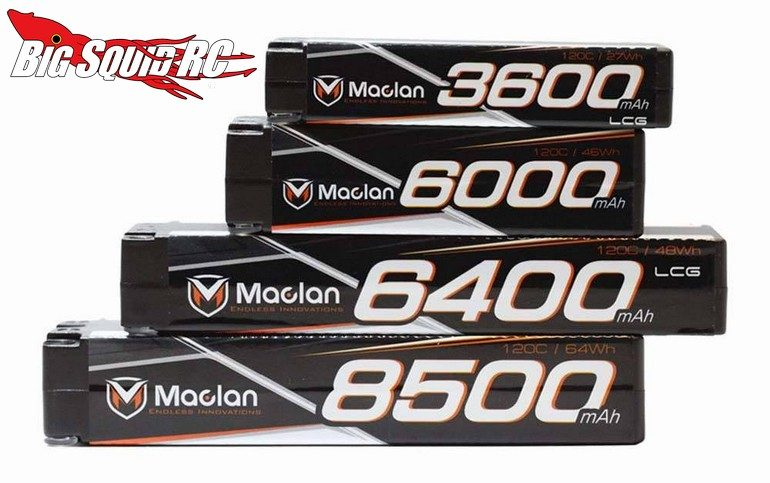 Maclan Racing Race Formula Graphene LiHV Batteries