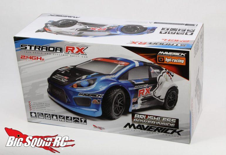 Maverick Strada RX Unboxing