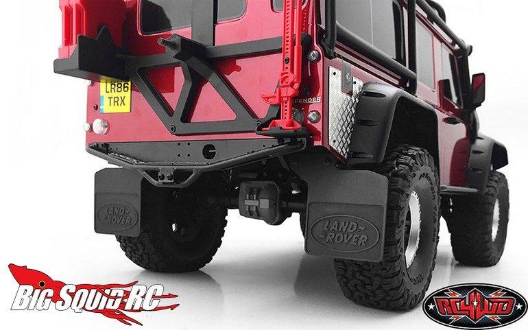 RC4WD Rear Mud Flaps Traxxas TRX-4