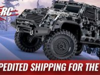 Traxxas Holiday Shipping