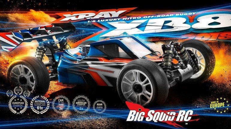 XRay 2018 XB8