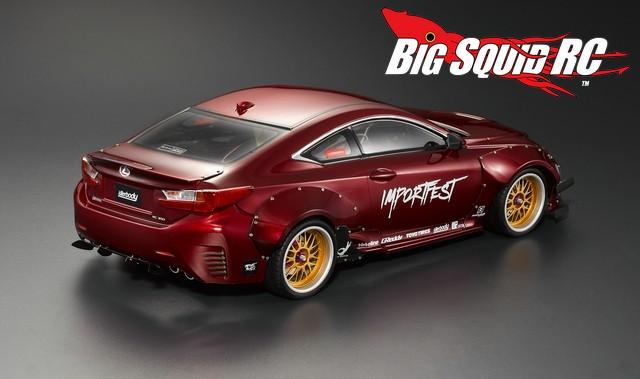 Killerbody Rc Lexus Rc F Wide Body Kit Big Squid Rc Rc Car And