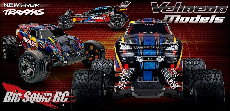 New Traxxas VXL Models